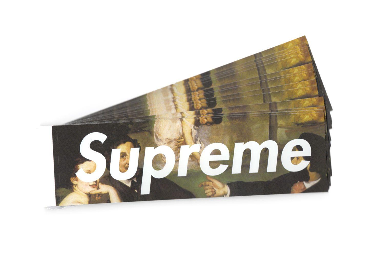 0c68202dc473 Supreme - Manet Box Logo Sticker - ParkSIDER