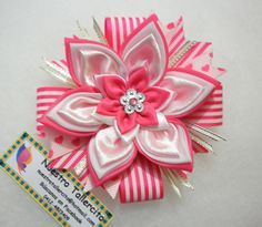 2220987d Pin de Mela Cz en Lazos para niñas | Moños con cinta, Lazos de tela ...