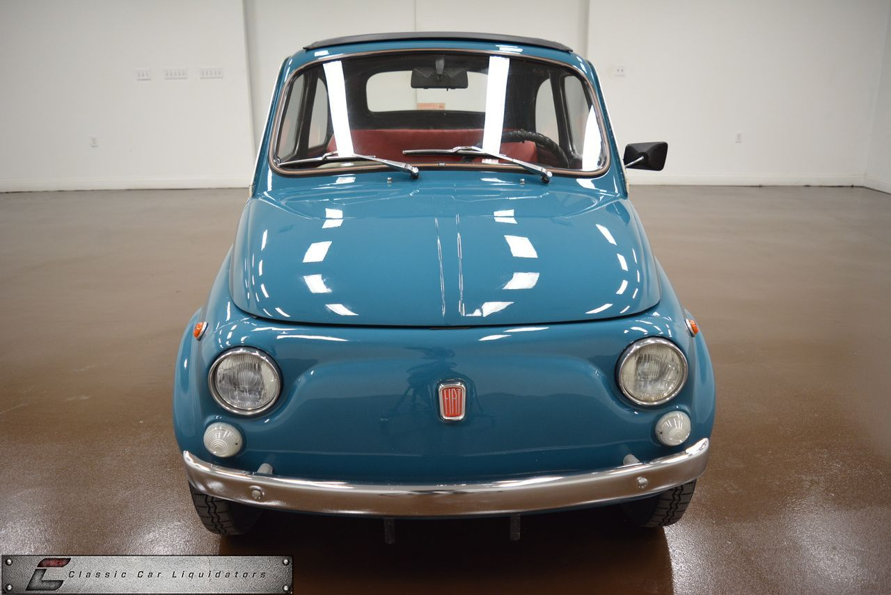 Fiat Classiccars Carsforsale Autos 1970 500 F 4 Speed For Sale 500texasfor Salecars