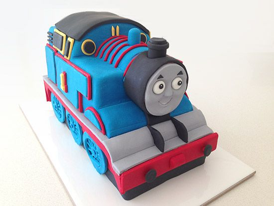 Fondant Thomas Train Cake Tutorial With Http Howtocookthat Net