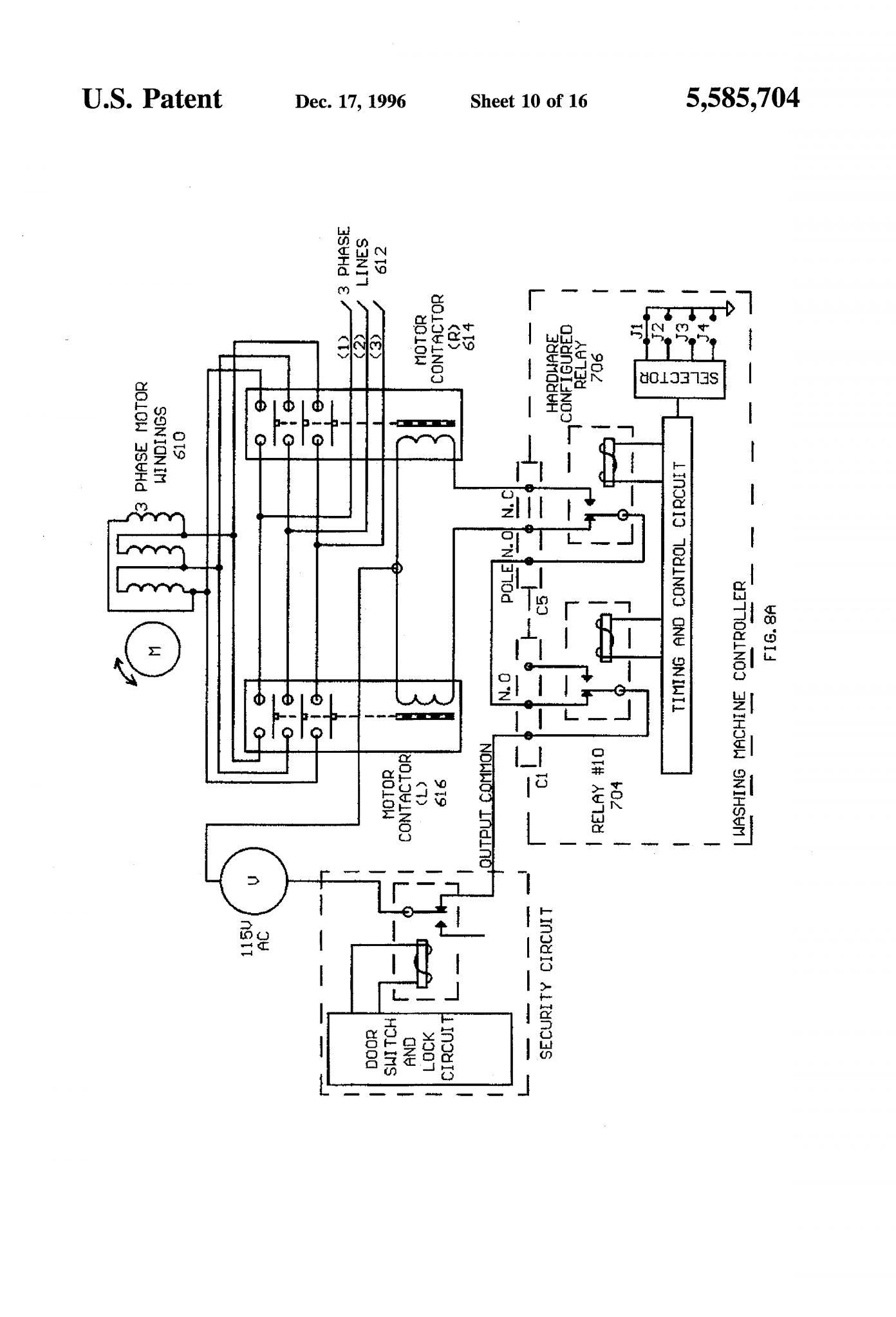 Ge Motor Wiring Diagram : motor, wiring, diagram, Electric, Motor, Wiring, Diagram, Washer, Resources, Washing, Machine, Motor,, Diagram,