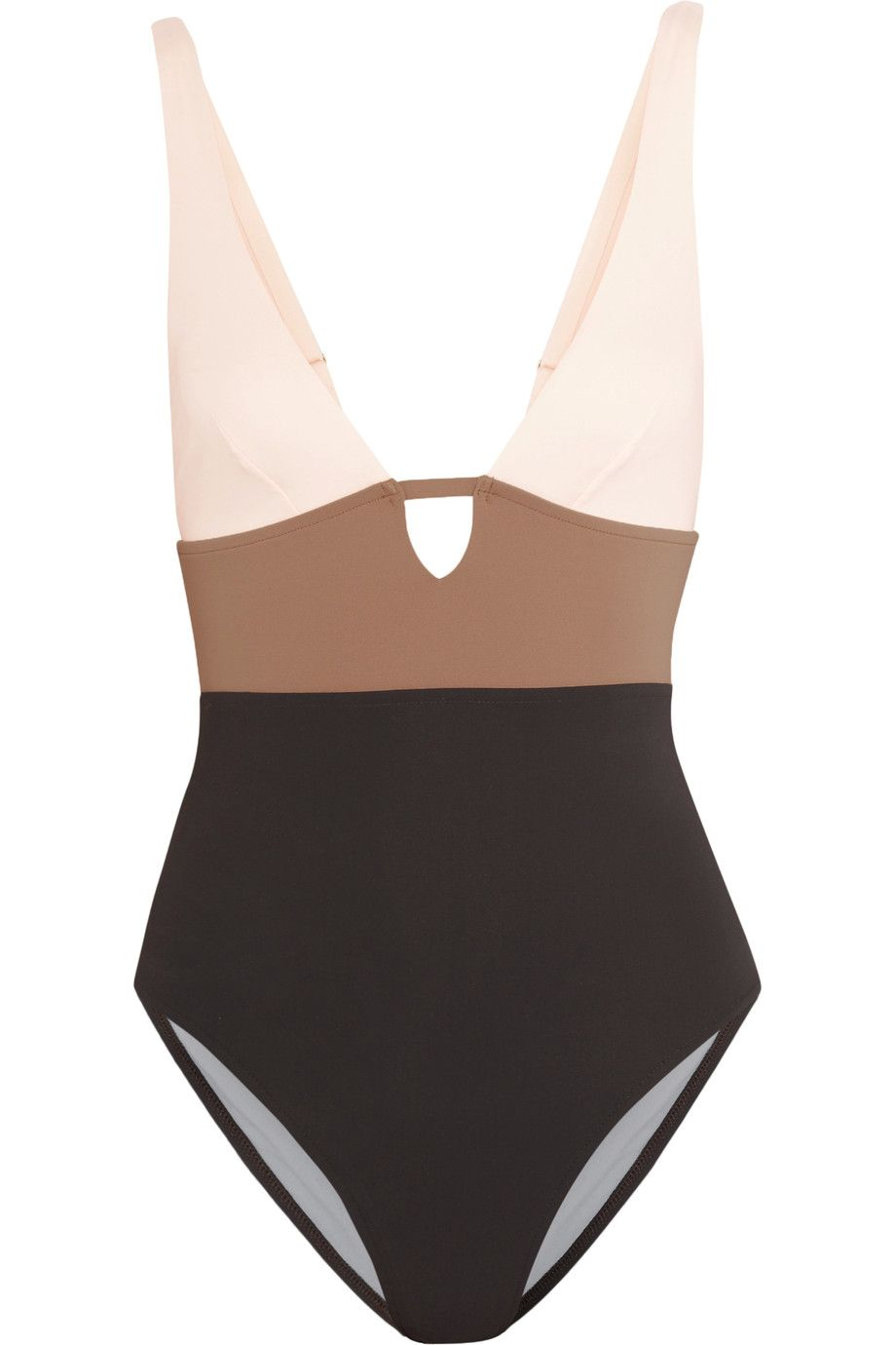 e6d8f444d45 Shop on-sale Iris and Ink Color-block cutout swimsuit. Browse other discount  designer Beachwear & more on The Most Fashionable Fashion Outlet, THE  OUTNET.