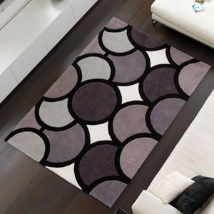 Harlequin Bubble Grey Rug On Housing Units