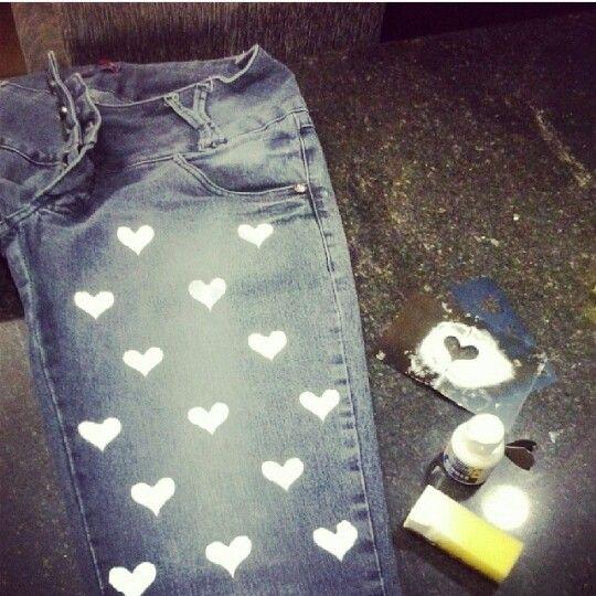 Jeans Customizado