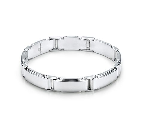 Item Tiffany Metropolis Link Bracelet In Sterling Silver United States
