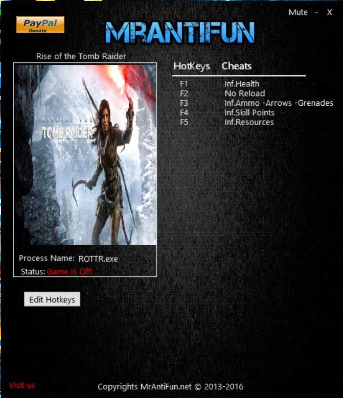 Pin by Online To Brain on Rise of the Tomb Raider PC Cheat