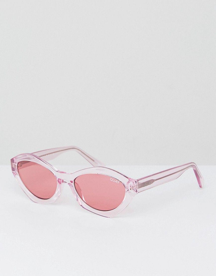 6a533cc203 Quay Australia X Kylie Jenner As If Cat Eye Sunglasses In Pink - Pink