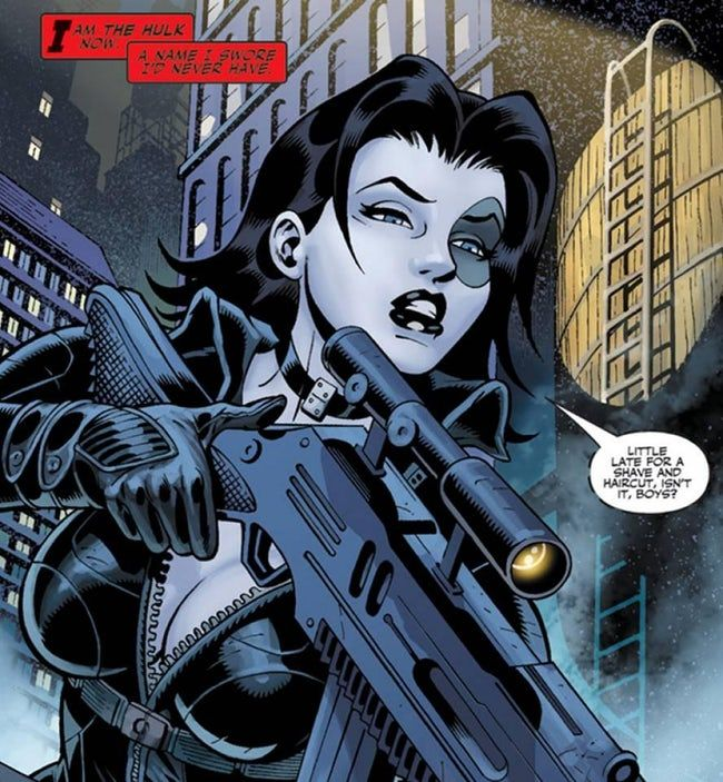 Domino is listed (or ranked) 24 on the list The Best XMen