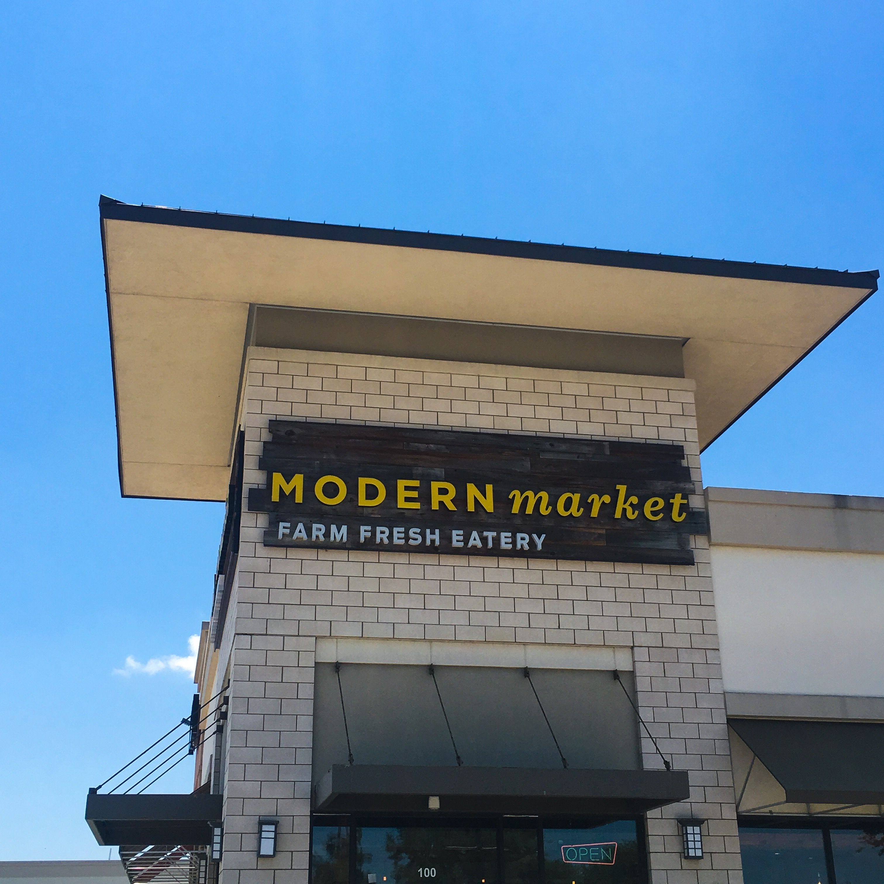 Modern Market in Plano, TX Are Their Greens and Meats a