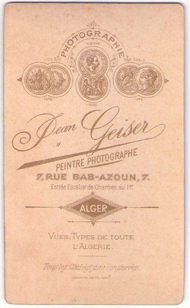 GEISER 2 - Alger (Delcampe.net)