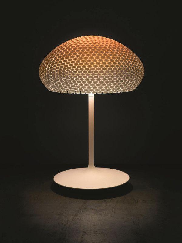 3d Printed Lamps With Color Changing Bulbs Design Milk Lamp Lamp Design 3d Lamp