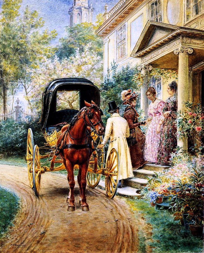 Henry Victor Lesur (1863-1900) Франция