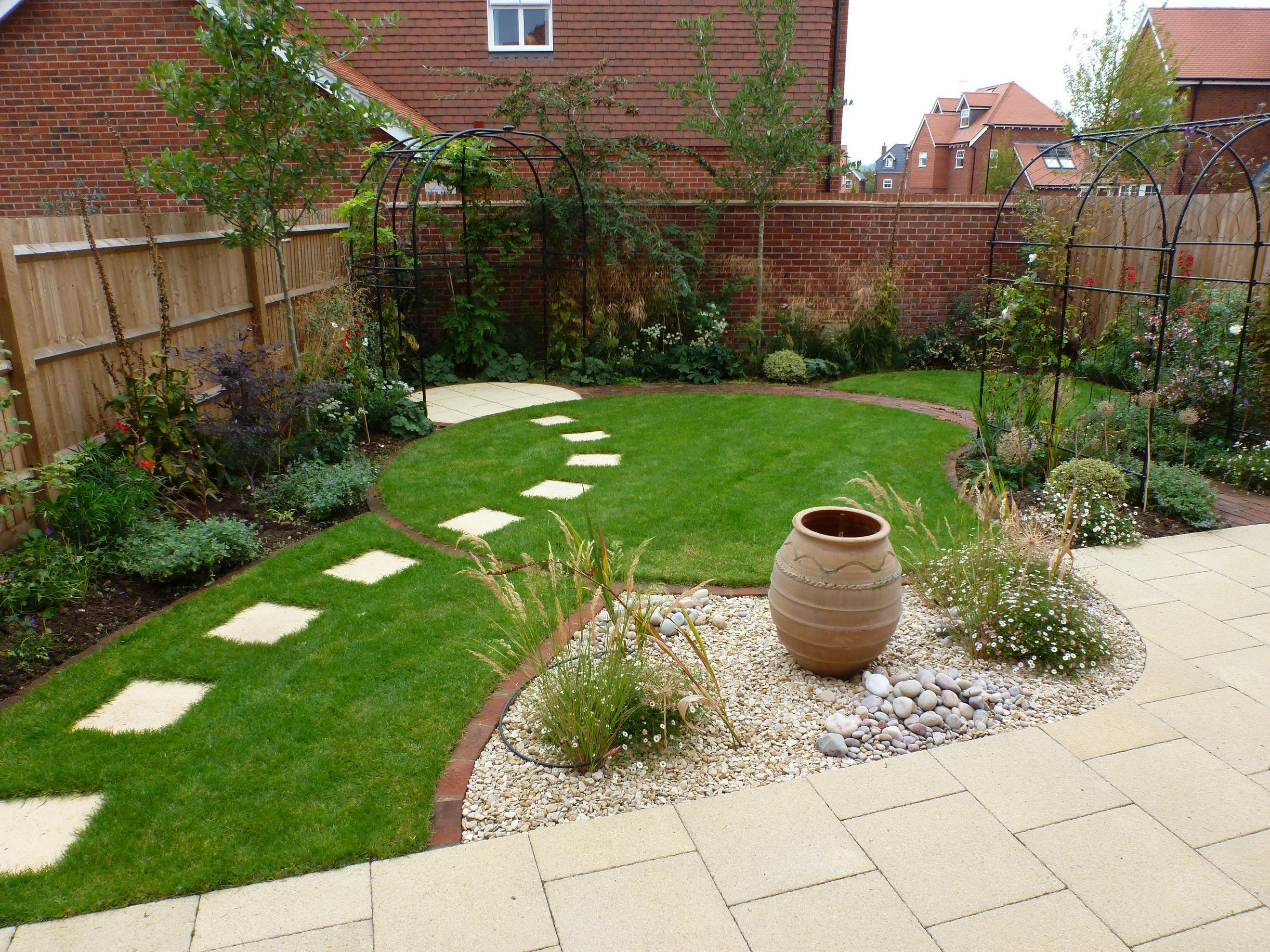 50+ Beautiful Garden Landscape Designs | Small garden ...
