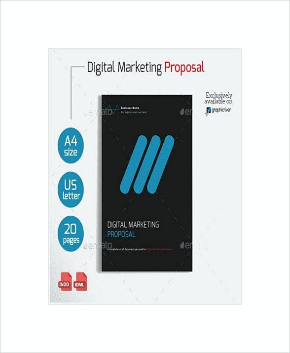 Sample Digital Marketing Proposal Template   Digital Marketing