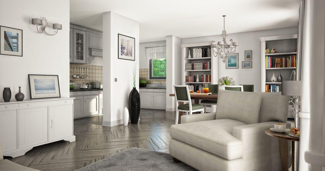 Kern-Haus Familienhaus Komfort Wohnzimmer home \ lifestyle - wohnzimmer mit offener küche gestalten