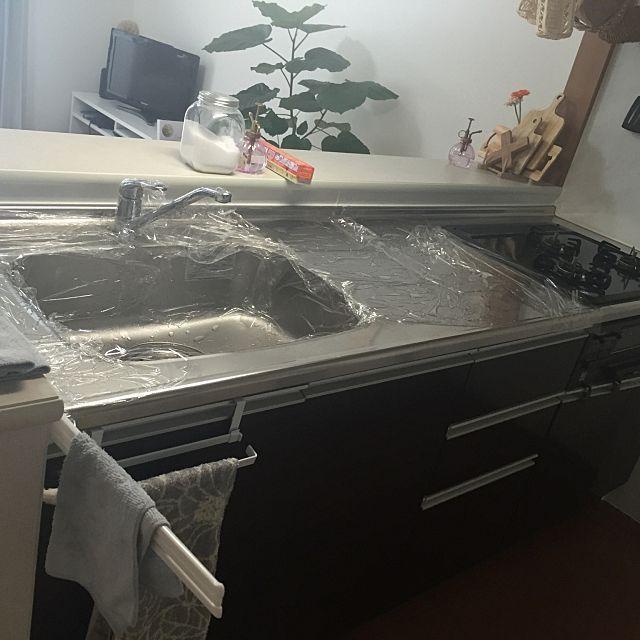 重曹 クエン酸 セスキ ナチュラルクリーニングを極めよう セスキ 狭いキッチン 収納 シンク