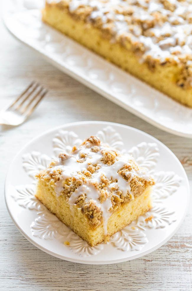 Buttery Coffee Crumb Cake | Recipe (With images) | Crumb ...