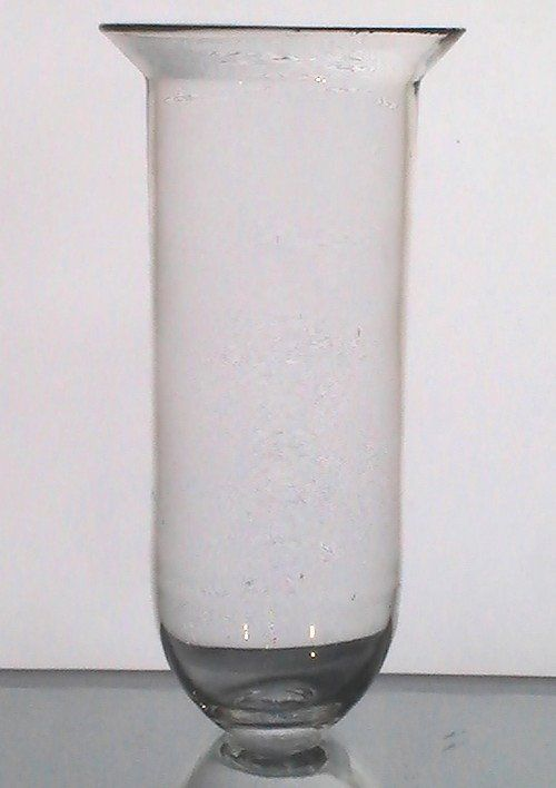 Hanging Candle Holder Tall Hand Blown Flared Rim 7 75 X 3