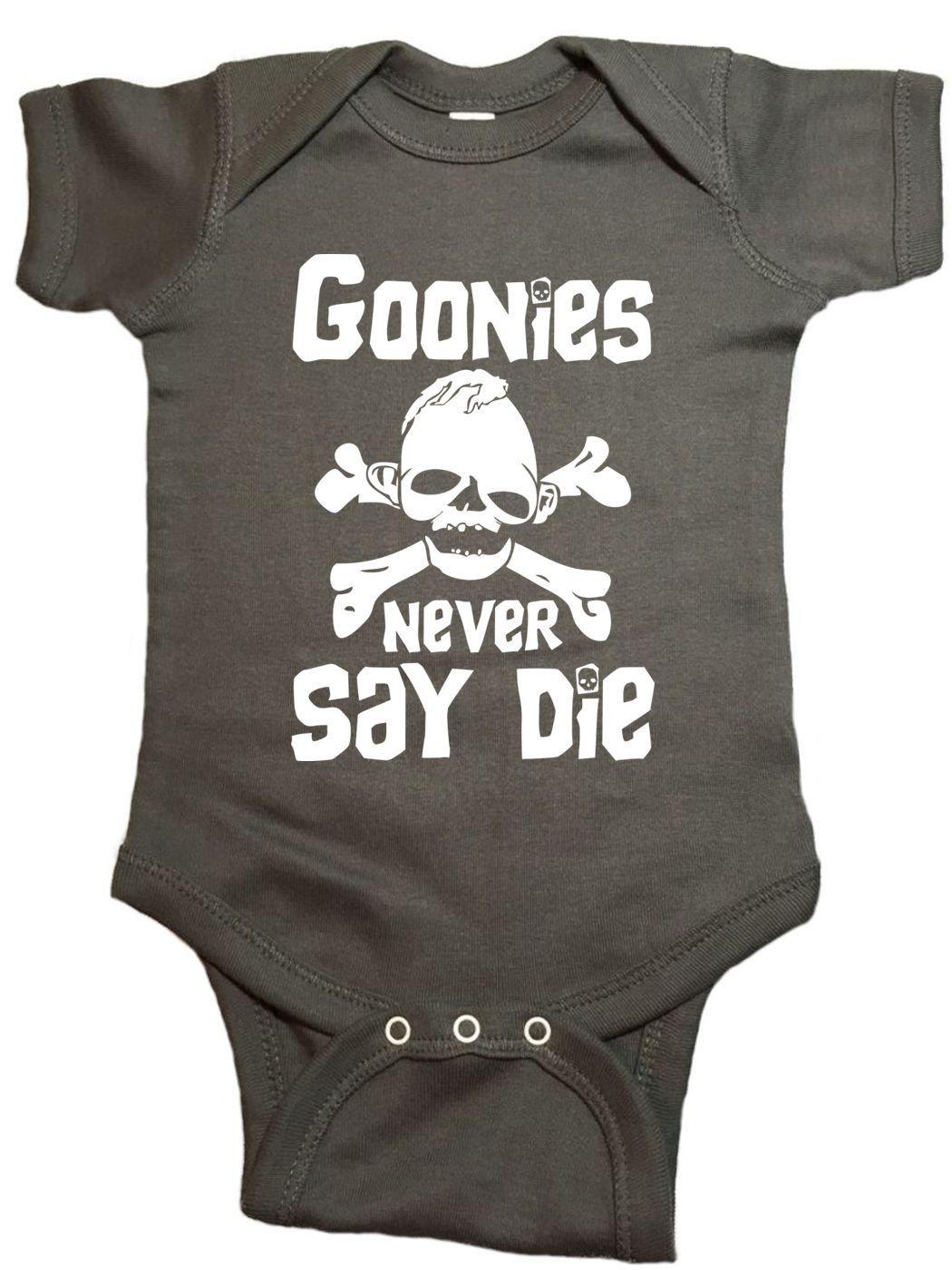 Goonies Never Say Die Baby Onesie Future Baby Bebe