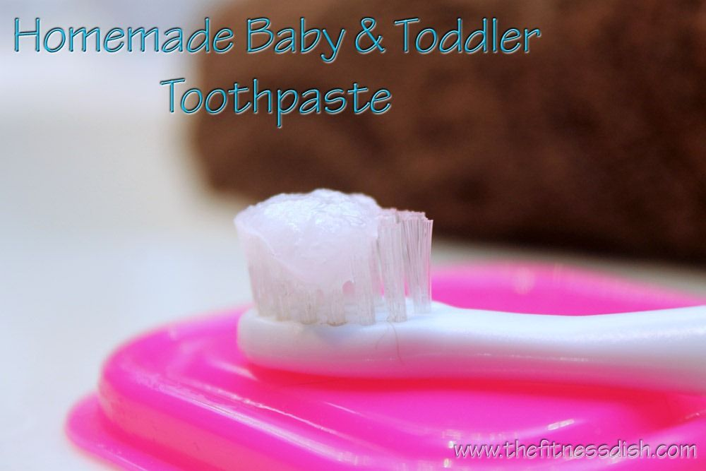 Homemade Baby Toothpaste Ingredients: 1 Tablespoon coconut oil 1 Tablespoon baking soda {optional add a few drops of alcohol-free peppermint, vanilla, ...