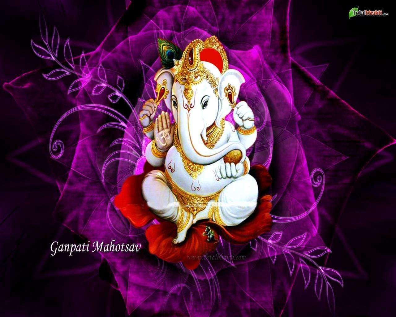 Riddhi Siddhi Ganesh Hd Wallpaper For Desktop Lord Ganesha Lord Ganesha Wallpaper Wallpaper Pc