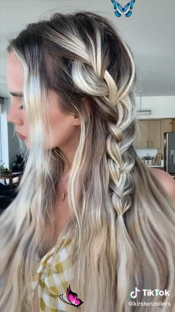 simple summer hairstyle 🦋 ☆ follow our board for more ☆