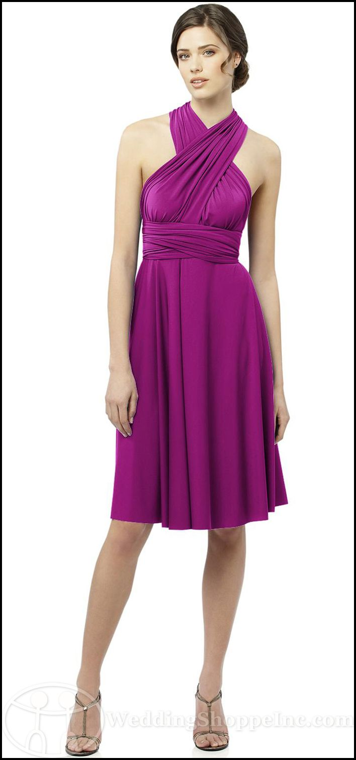 Shop for the best convertible bridesmaid dress at Wedding Shoppe Inc ...