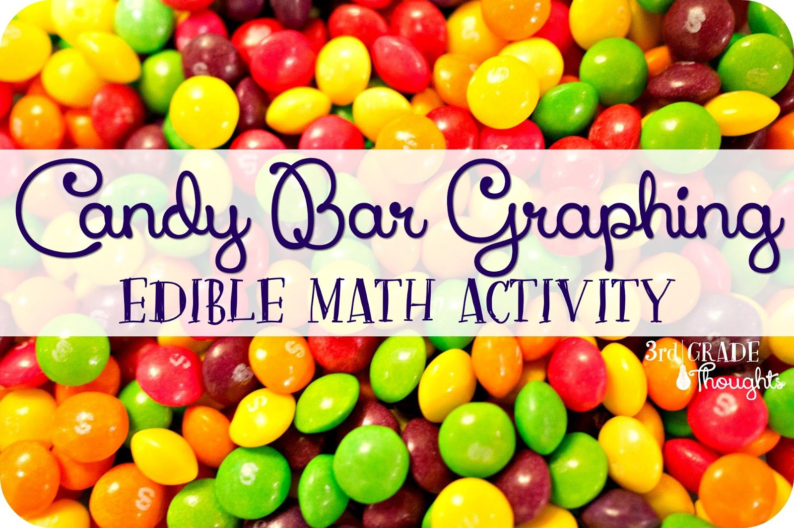 Candy Bar Graphing Edible Math Activity