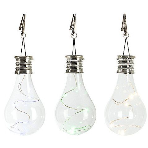 Infused With A Colored Micro String Light Inside The Solar Edison Bulb Is Great Way To Add Touch Of Stylish Flair Your Outdoor Décor