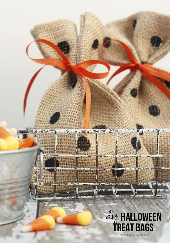 11 DIY Halloween Treat Bag Ideas Pinterest Diy halloween treat - halloween treat bag ideas