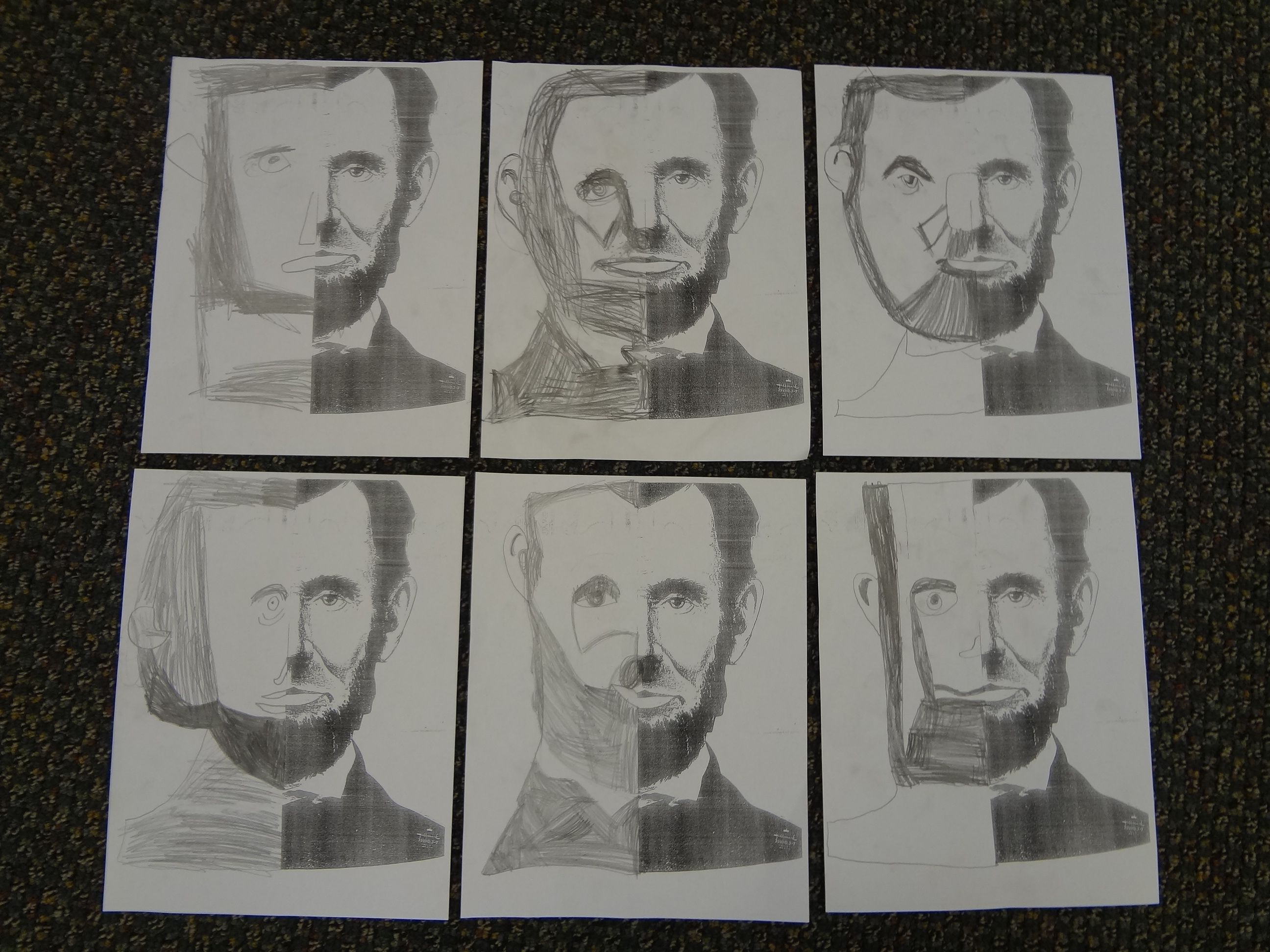 I Did This Cute Symmetry Activity With My Class Last Week Since We Are Talking About Presidents