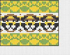 Ravelry: Lion face chart pattern by Sandra Jäger