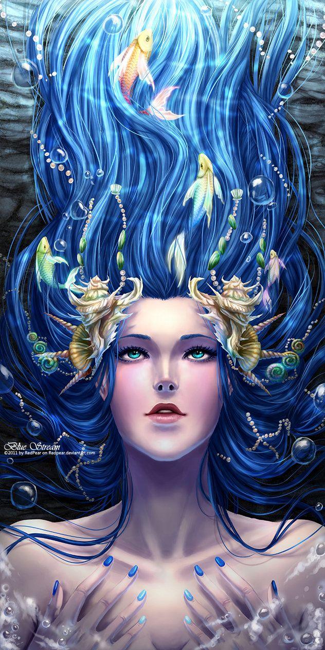 Blue Stream By RedPear