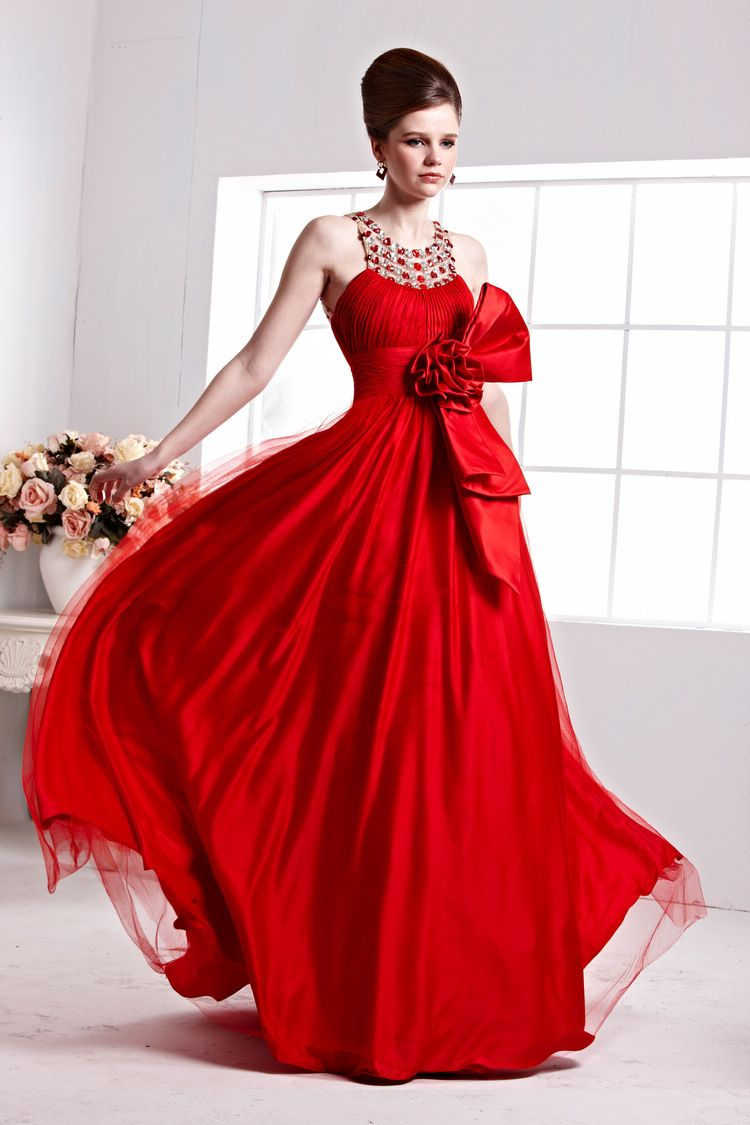 This elegant and extravagant gown is a nice dress for a ball cute