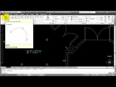 How To Autocad Creating An Electrical Lighting Plan Part