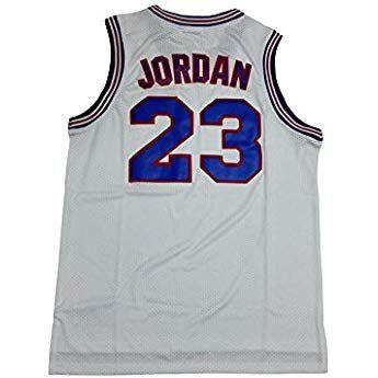 3f70827fbe7 Domminkez Jordan 23  Space Jersey Squad Basketball White Black S XXL ...