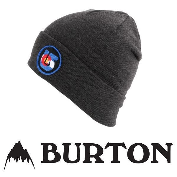 23 Burton Snowboarding Mens Regional Beanie Hat Colorado Grey Embroidered  Logo Sale  Burton  Beanie 461c5ccb139