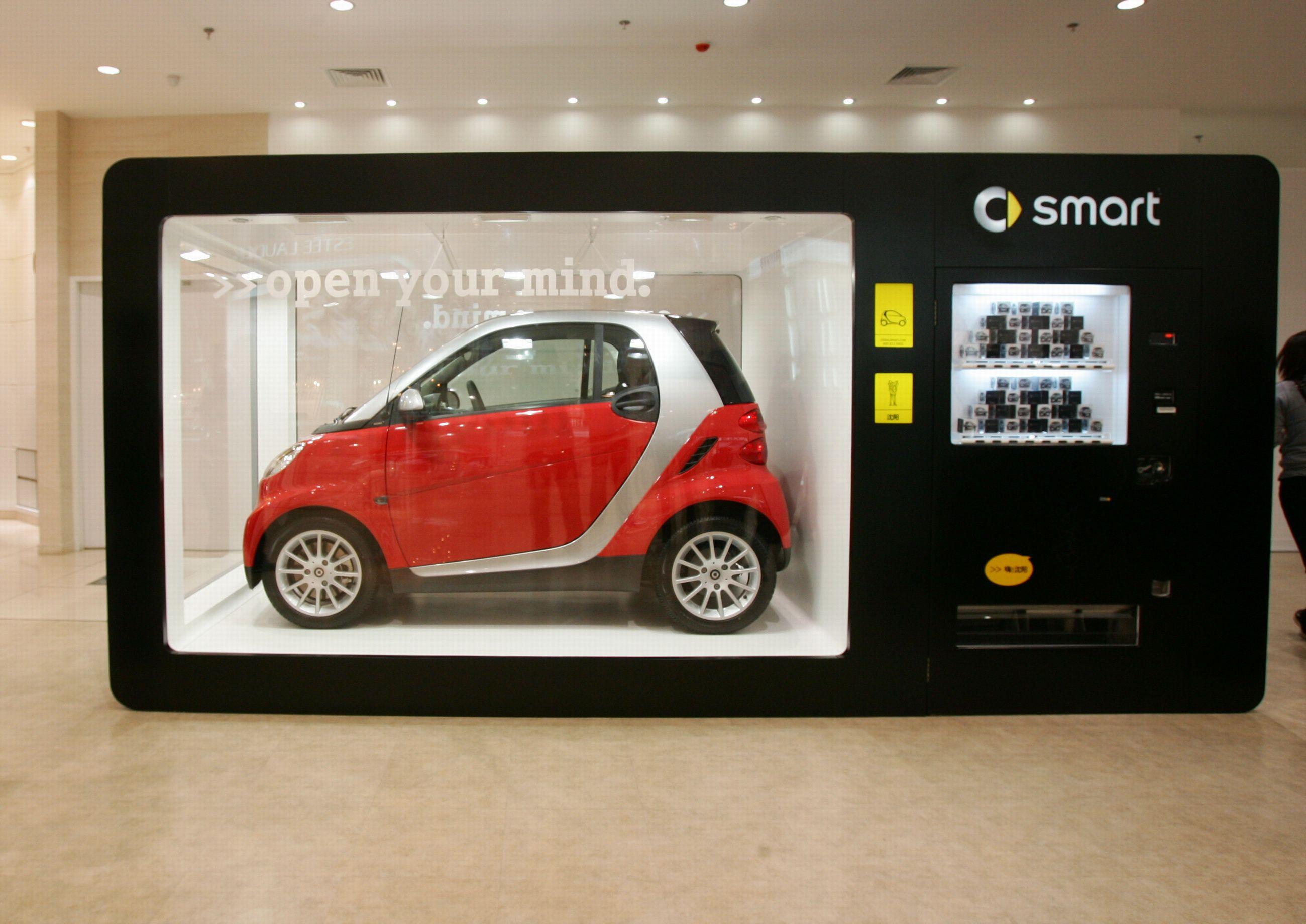 Smart Car Vending Machine Vending Machine Design Vending