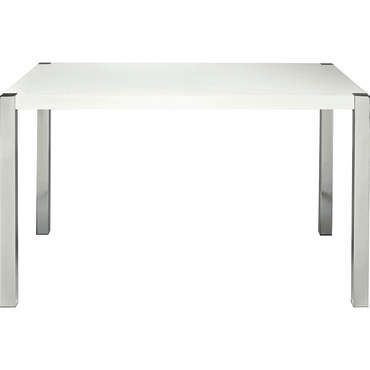 nice Table rectangulaire SUNNY coloris blanc - Conforama Check more - Conforama Tables De Cuisine