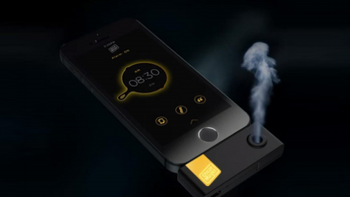 Un smartphone con olor - oPhone