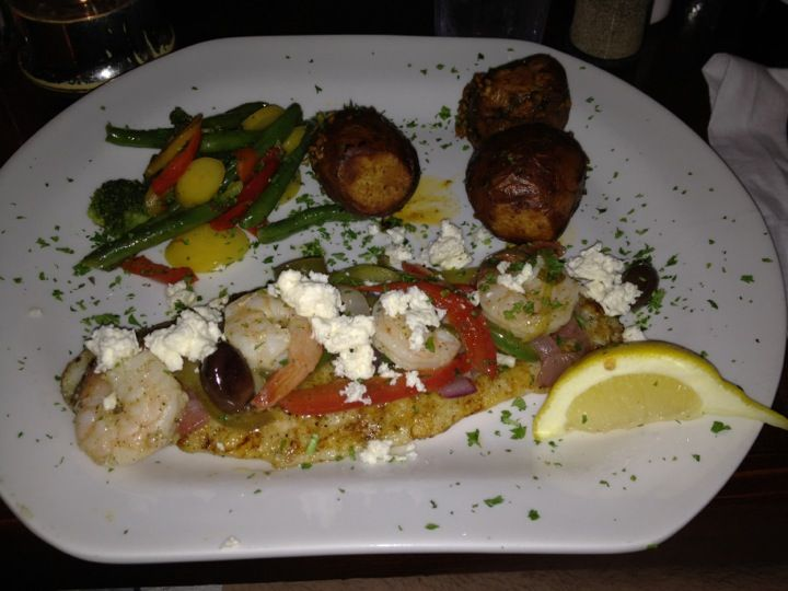 Grapevine Restaurant In Calabash Nc Serves Authentic Mediterranean Dishes Great Seafood Steaks Pasta And Much More