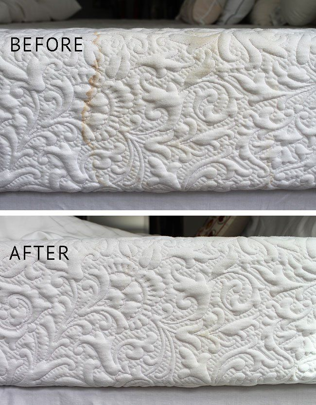 How To Clean A Mattress And Remove Stains With Baking Soda A