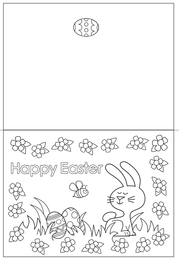 Free Easter Colouring Pages The Organised Housewife Easter Coloring Pages Free Easter Coloring Pages Easter Cards Printable