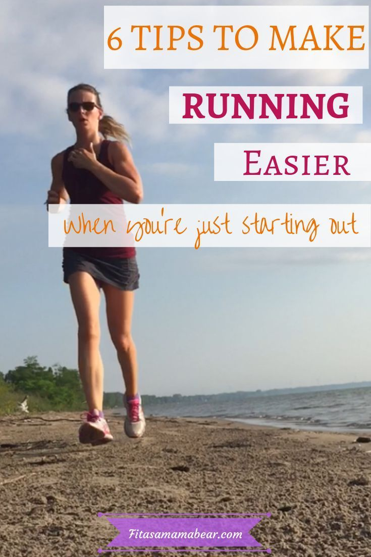 Learn how to run if you're a beginner. Tips and tricks to make running easier #run #running #running...