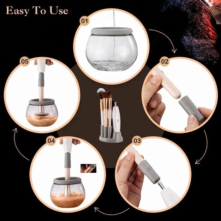Photo of Makup Brush Cleaner – Make cleaning your makeup brush easier with ……