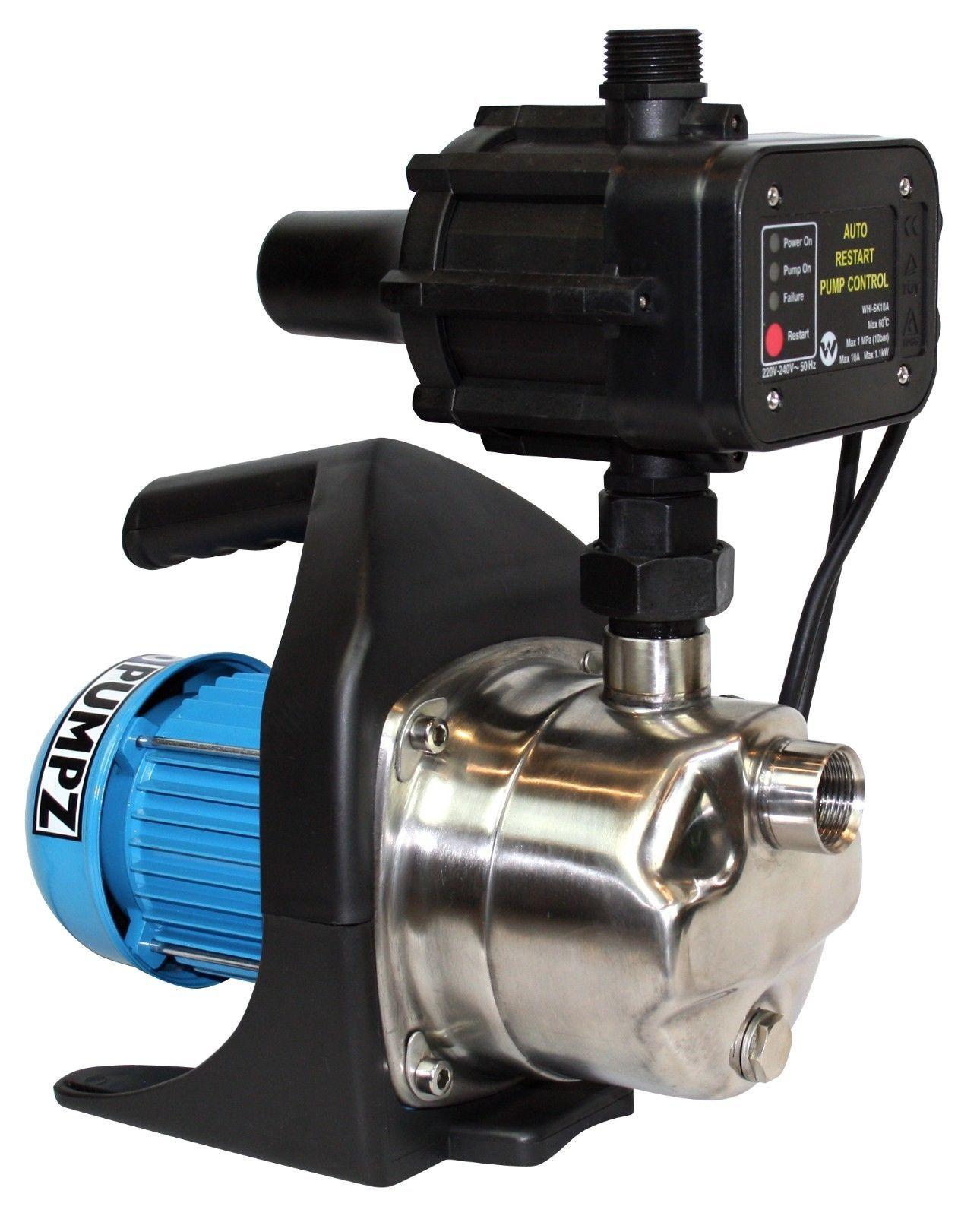 NEW Bianco Pressure Pump Auto 600W Rain Water Domestic
