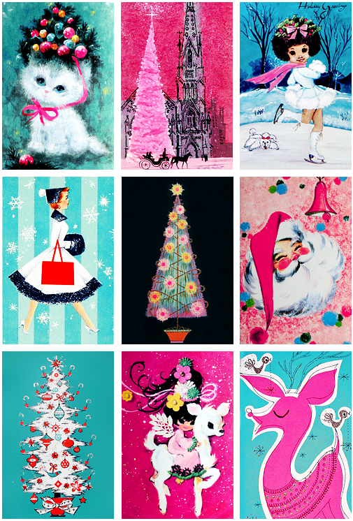 Vintage Christmas Cards from the '50s and '60s, Part 1 | Vintage christmas cards, Geek christmas, Christmas scrapbook