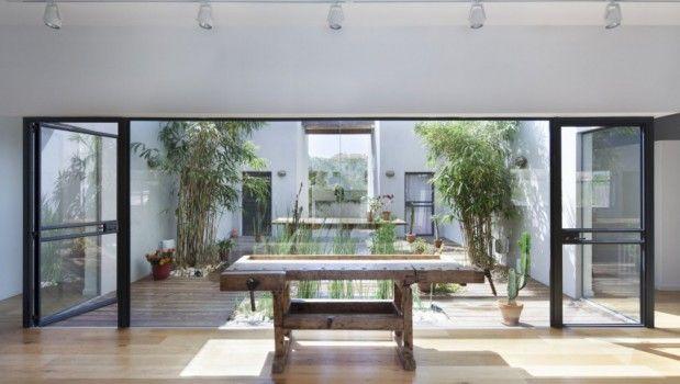 Casa patio interior ihome casas modulares house - Casas con patio interior ...