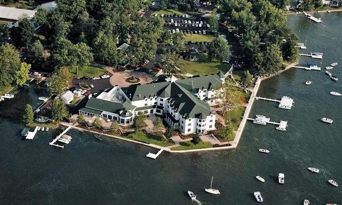 Lakeside Indiana Resort with Aveda Spa $59