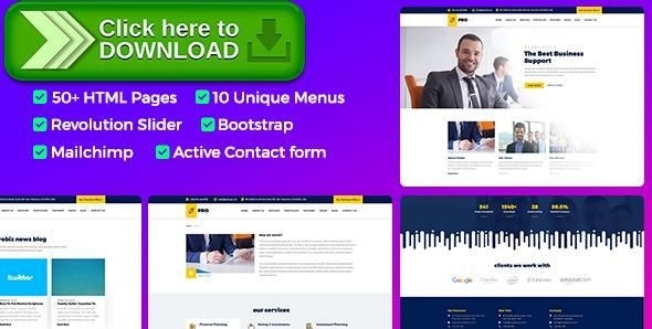 Free nulled probiz responsive business html template download themeforestfree nulled download probiz responsive business html template from http wajeb Image collections